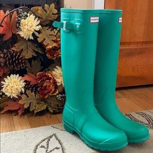 New Hunter- Jade Original Tall Matte Boots